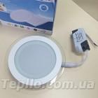 Светильник LED круг 6Вт встроенный