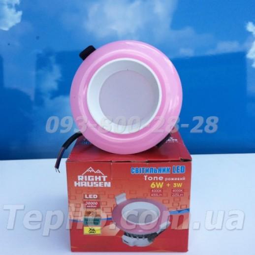 Светильник встроенный LED RIGHT HAUSEN TONE декоративный 6 Вт