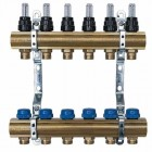 Коллектор Neptun IWS латунь 11 выходов с расходомерами