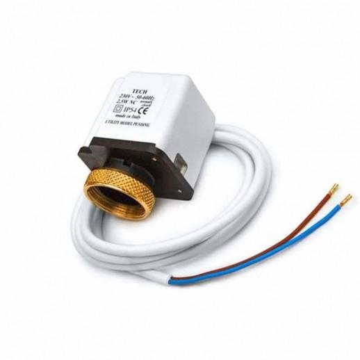 Термостатическая головка IWS с сервоприводом