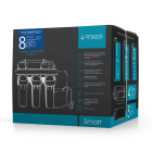 Система фильтрации осмос Smart 8 c минерализатором биоактиватором и УФ