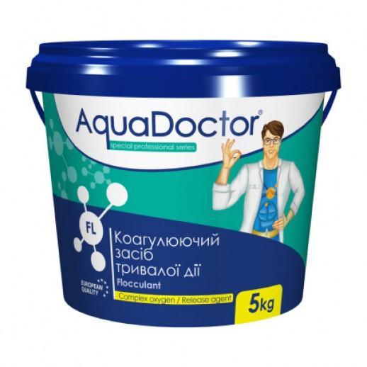 Химия для бассейна коагулянт в гранулах AquaDoctor FL-5 кг