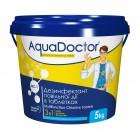 Химия для бассейна хлор Multitabs трехкомпонентный AquaDoctor MC-T 5 кг