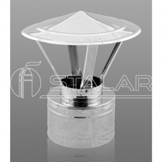 Грибок термо 150x220 нерж/нерж 0,5 мм AISI 201