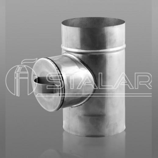 Ревизия 150 мм  одностенная нержавеющая сталь