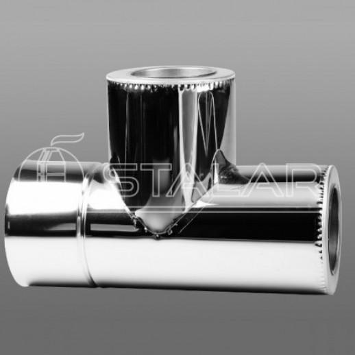 Труба 120 нержавейка для дымохода AISI 201
