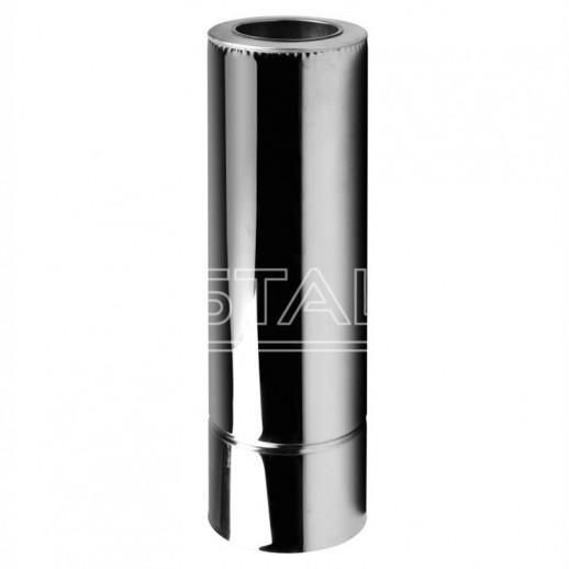 Дымоход для котла труба 120x180 нерж/нерж 0,5 мм