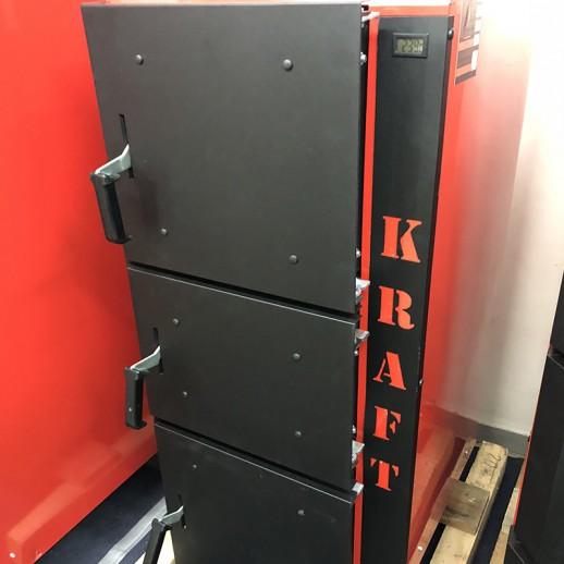 Котел KRAFT L 50 кВт длительного горения с автоматикой сталь 6мм