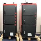 Котел KRAFT L 30 кВт длительного горения с автоматикой сталь 6мм