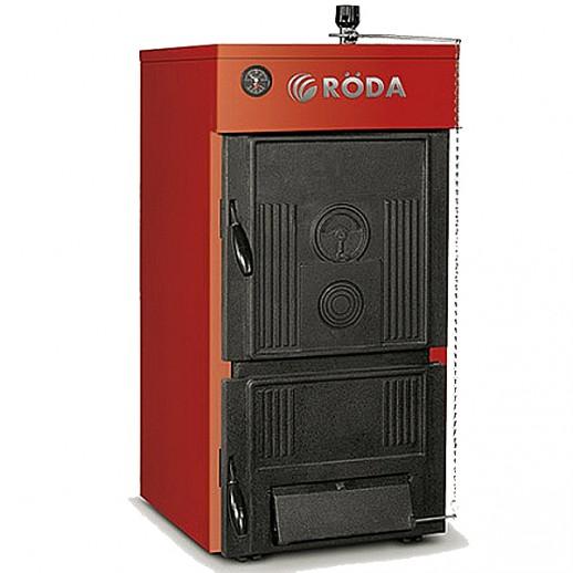 Чугунный твердотопливный котел 14 кВт RODA Сlassiс