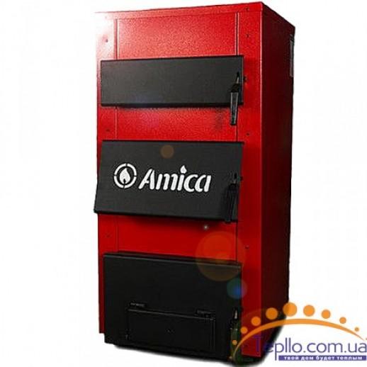 Котел твердотопливный 23 кВт универсальный котел Amica Solid