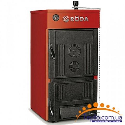 Чугунный твердотопливный котел 18 кВт RODA Сlassiс
