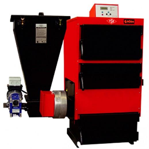 Котел с автоматической подачей топлива RK3G/S-40
