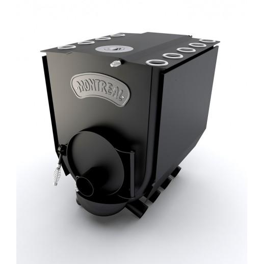 Канадская печь Monreal Lux 19 кВт с конфоркой