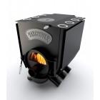 Канадская печь Vancouver Lux K 12 кВт с конфоркой