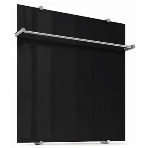 Обогреватель, дизайн радиатор Flora Bl 60x60 (чёрный)