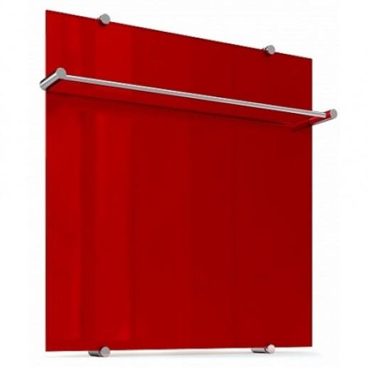 Обогреватель, дизайн радиатор Flora Re 60x60 (красный)