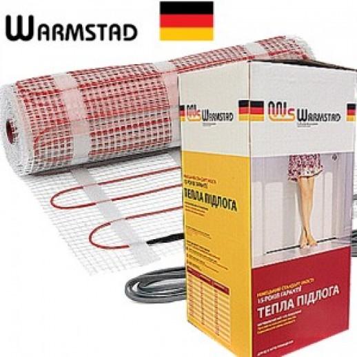 Теплый пол 1,2м2 электрический мат Warmstad WSM175