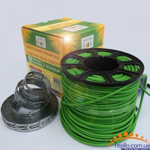 Green Box тонкий теплый пол GB1000 6,5-8,9м2