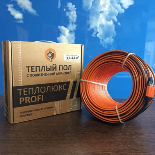 Нагревательный кабель ProfiRoll 480 2.63-3.50 м2 35 м.п.