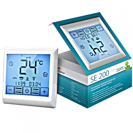 Терморегулятор сенсорный программатор SE 200