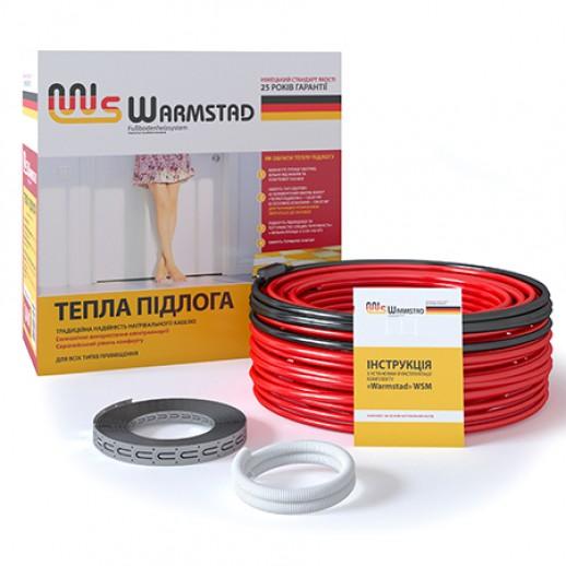 Нагревателный кабель в стяжку Warmstad WSS 47,0 м/680 Вт